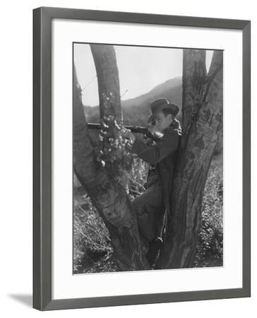 Sharp Shooter--Framed Photo