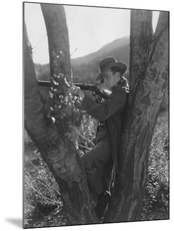 Sharp Shooter--Mounted Photo
