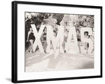 Xmas Greetings--Framed Photo
