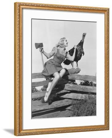 Your Days are Numbered--Framed Photo