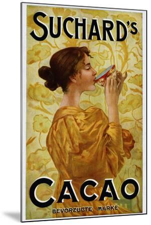 Circa 1905 Belgian Poster for Suchard's Cacao-swim ink 2 llc-Mounted Photographic Print