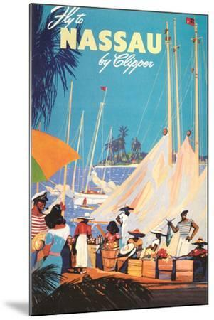 Fly to Nassau Poster-Found Image Holdings Inc-Mounted Photographic Print