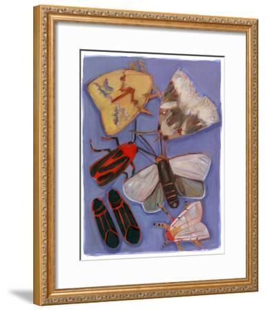 Minnesota Moths and Box Elders-Megan Moore-Framed Giclee Print