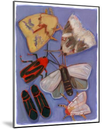 Minnesota Moths and Box Elders-Megan Moore-Mounted Giclee Print
