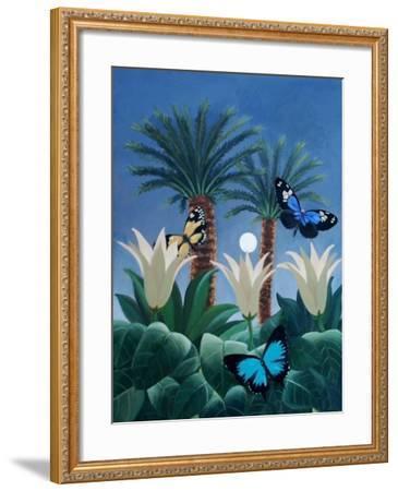 Flutter in the Jungle-ELEANOR FEIN-Framed Giclee Print