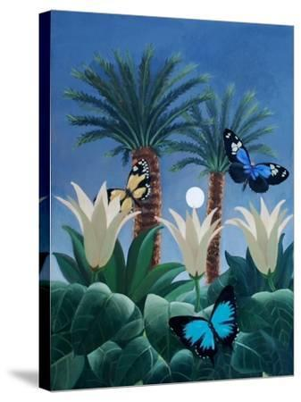 Flutter in the Jungle-ELEANOR FEIN-Stretched Canvas Print