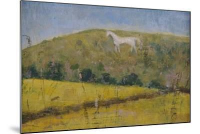 The White Horse-Ruth Addinall-Mounted Giclee Print