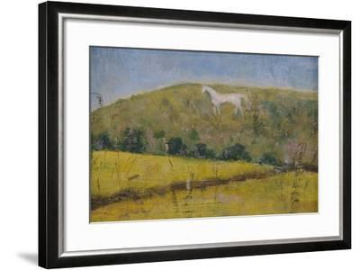 The White Horse-Ruth Addinall-Framed Giclee Print