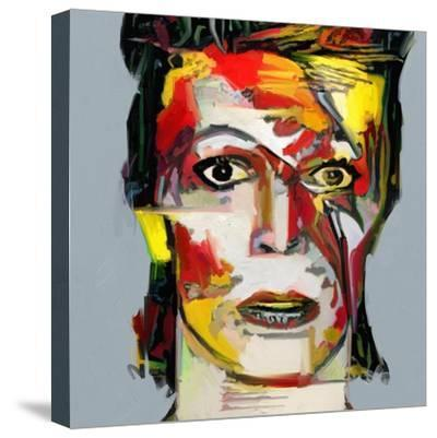 Picasso Reimagined - David Bowie 2-Mark Gordon-Stretched Canvas Print