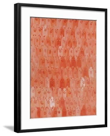 Pig Opera, 2016-Holly Frean-Framed Giclee Print