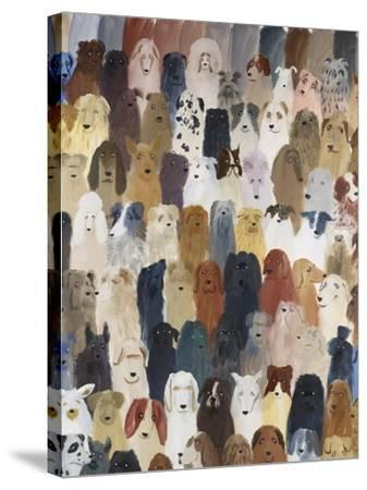Dog Assembly 1, 2016-Holly Frean-Stretched Canvas Print