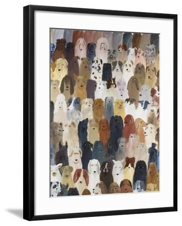 Dog Assembly 1, 2016-Holly Frean-Framed Giclee Print