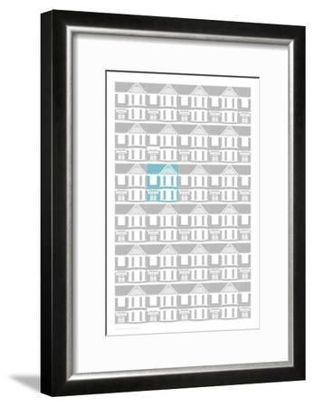 Edwardian Repeat Print-Sarah Evans-Framed Giclee Print