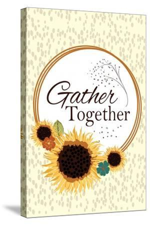 Gather Together-ND Art-Stretched Canvas Print