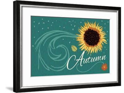 Autumn-ND Art-Framed Art Print