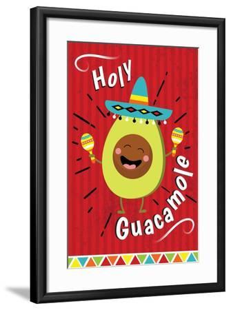 Holy Guacamole-ND Art-Framed Art Print