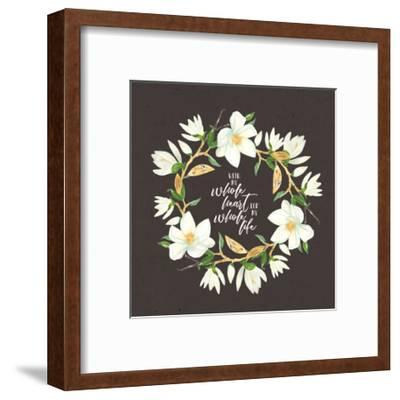 Whole Heart Whole Life-Tammy Apple-Framed Art Print