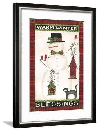 Warm Winter Blessings-Cindy Shamp-Framed Art Print