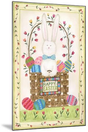 Happy Easter Basket-Cindy Shamp-Mounted Art Print