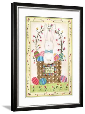 Happy Easter Basket-Cindy Shamp-Framed Art Print
