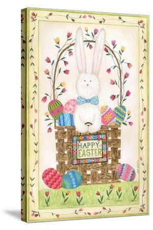Happy Easter Basket-Cindy Shamp-Stretched Canvas Print