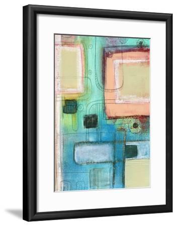 The Blue Crayon-Sarah Ogren-Framed Art Print