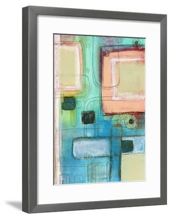 The Blue Crayon-Sarah Ogren-Framed Art Print