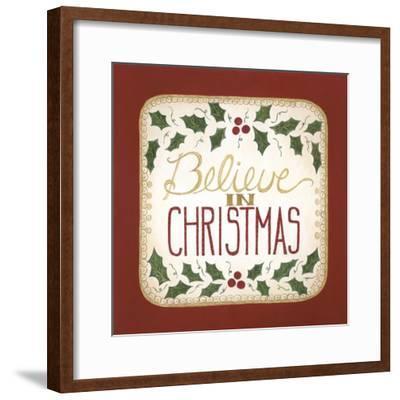 Believe in Christmas-Cindy Shamp-Framed Art Print