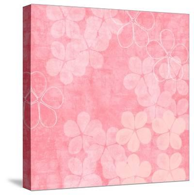 Millennial Pink II-Linda Woods-Stretched Canvas Print