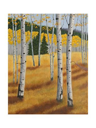 Aspens I-Julie Peterson-Framed Art Print