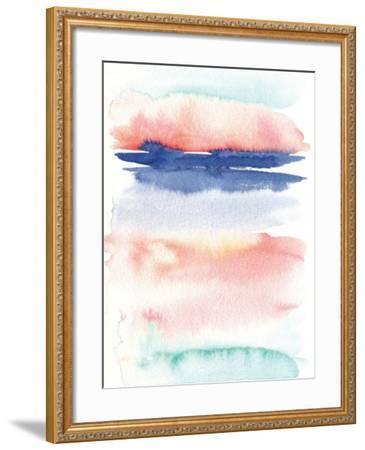 Pink Landscape Abstract I-Elise Engh-Framed Art Print