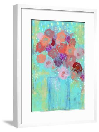 The Blue Vase II-Sarah Ogren-Framed Art Print