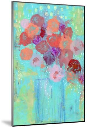 The Blue Vase II-Sarah Ogren-Mounted Art Print