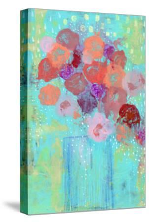 The Blue Vase II-Sarah Ogren-Stretched Canvas Print