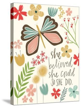 Believed She Could-Katie Doucette-Stretched Canvas Print