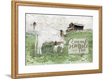 LIVe the Simple Life-Jennifer Pugh-Framed Art Print