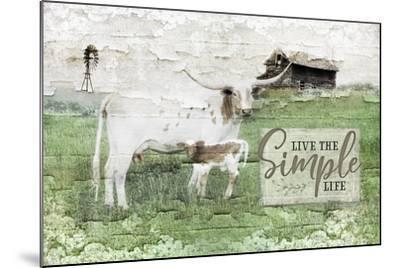 LIVe the Simple Life-Jennifer Pugh-Mounted Art Print