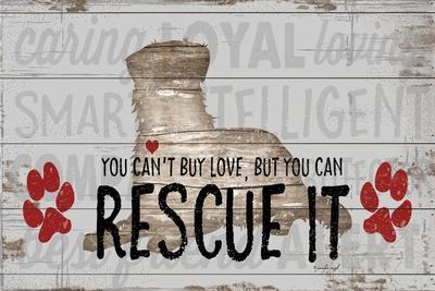 You Can't Buy Love - Dog-Jennifer Pugh-Framed Art Print