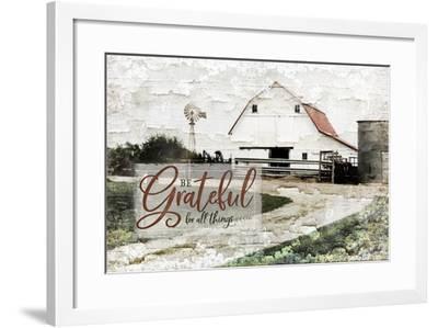 Be Grateful-Jennifer Pugh-Framed Art Print