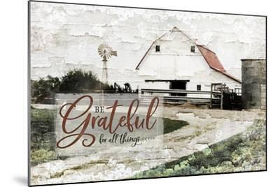 Be Grateful-Jennifer Pugh-Mounted Art Print