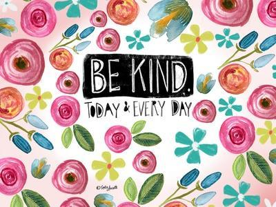 Be Kind Every Day-Katie Doucette-Framed Art Print