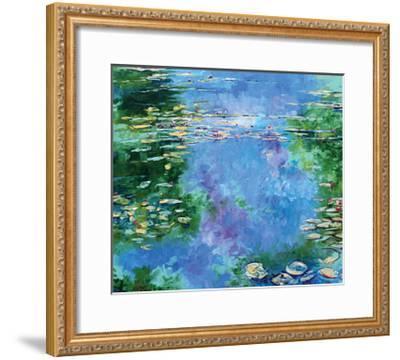 Water Lilies III-Stuart Roy-Framed Art Print