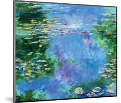Water Lilies III-Stuart Roy-Mounted Art Print