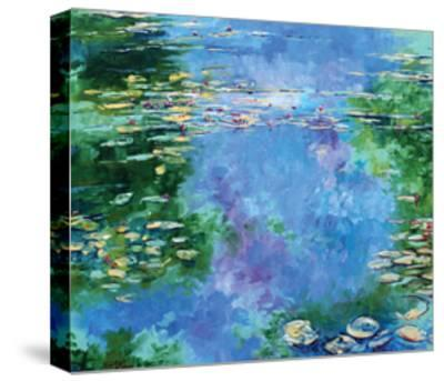 Water Lilies III-Stuart Roy-Stretched Canvas Print