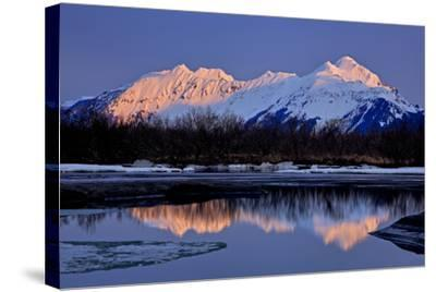 North America, the Usa, Alaska, Copper River Delta, Chugach Mountains-Bernd Rommelt-Stretched Canvas Print