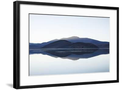 Chile, National Park Nevado Tres Cruzes, Laguna Santa Rose, Water Mirroring, Mountains-Jutta Ulmer-Framed Photographic Print
