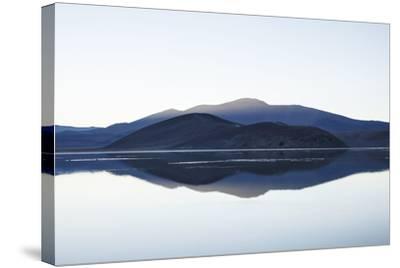Chile, National Park Nevado Tres Cruzes, Laguna Santa Rose, Water Mirroring, Mountains-Jutta Ulmer-Stretched Canvas Print