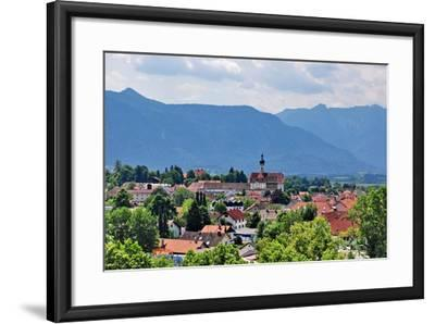 Germany, Bavaria, Murnau, View of a Place-Peter Lehner-Framed Photographic Print
