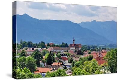 Germany, Bavaria, Murnau, View of a Place-Peter Lehner-Stretched Canvas Print