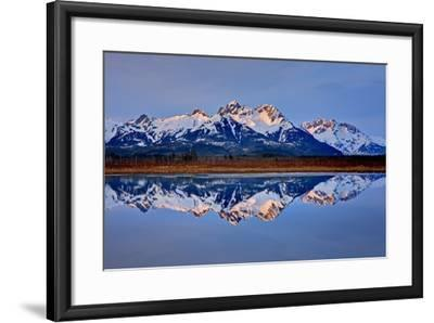 North America, the Usa, Alaska, Copper River Delta, Chugach Mountains-Bernd Rommelt-Framed Photographic Print